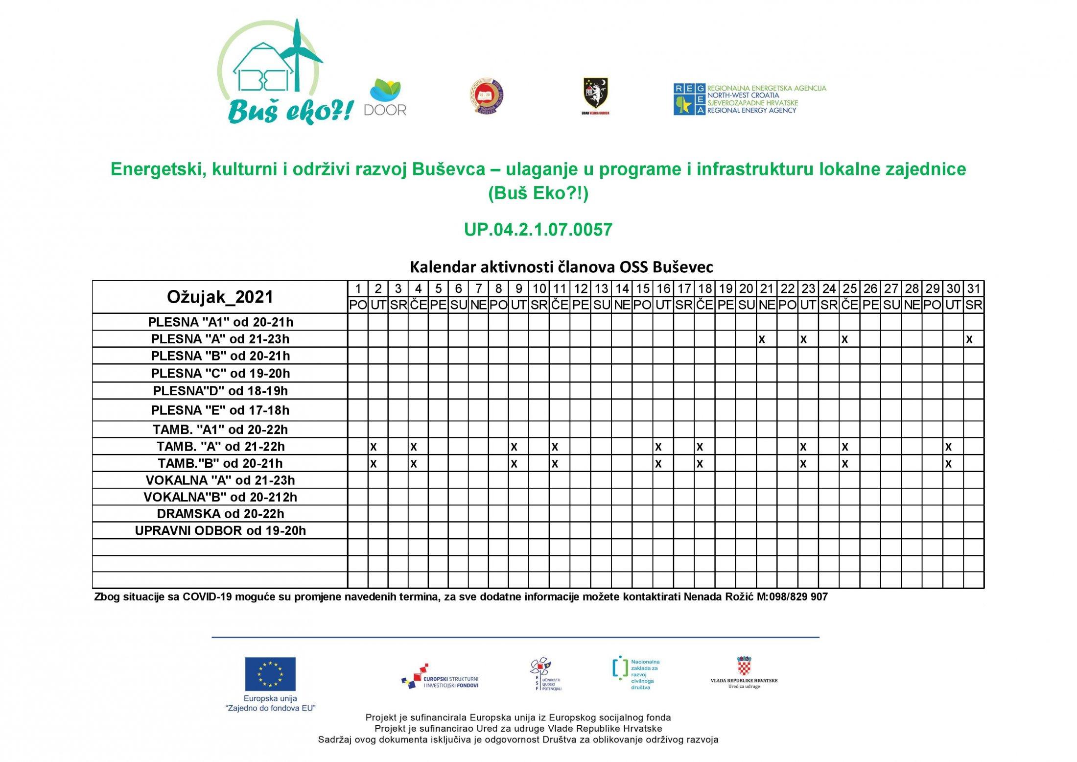 Kalendar Aktivnosti OŽUJAK 2021..-page-001