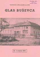 Ogranak Seljačke sloge – Glas Buševca br. 3