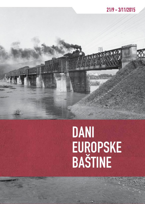 Brošura: Dani Europske Bastine 2015